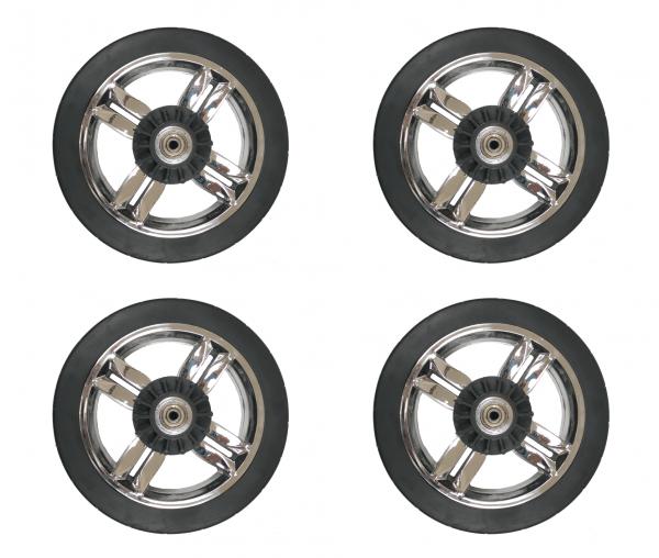 PU-Räder-Set für Bebepram S6 Bollerwagen