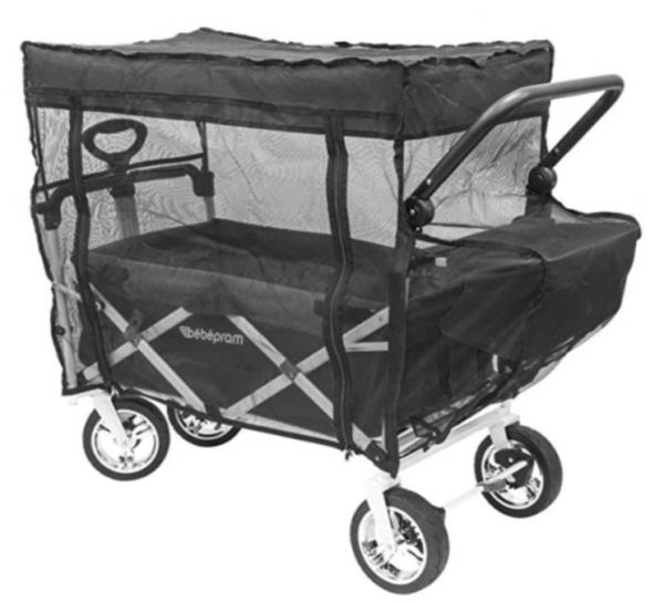 Insektenschutz/Mosquitoschutz für RABIMOBO Sun / Bebepram S6 Bollerwagen